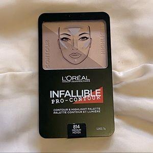 L'Oréal Infallible Pro-Contour Palette 814
